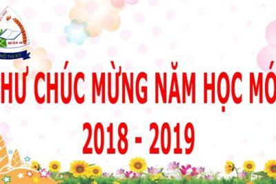 Thư chúc mừng của Chủ tịch nước nhân ngày Khai giảng năm học 2018-2019