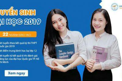 Thông báo về tuyển sinh của Trường ĐH dự bị TW Nha Trang 2019-2020